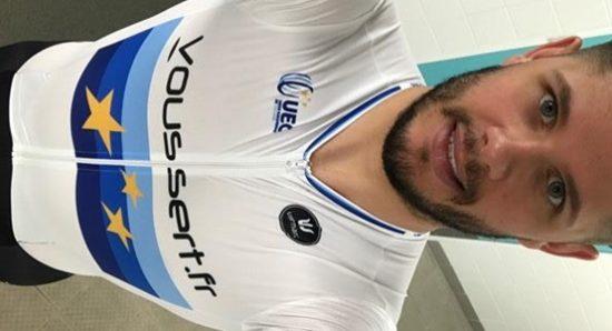 Quentin Lafargue aux mondiaux 2018 de cyclisme